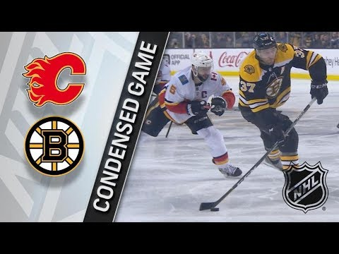 Calgary Flames vs Boston Bruins – Feb. 13, 2018 | Game Highlights | NHL 2017/18. Обзор