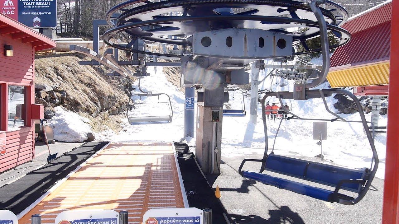 Versant du Village #3 - Bromont, montagne d'expériences / Doppelmayr Quad Chairlift