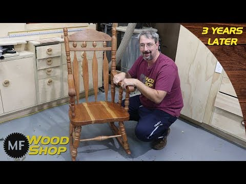 Rocking Chair Build - Three Years Later