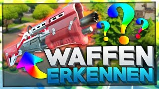 Do YOU recognize these FORTNITE WAFFEN on the SOUND? 🔫👂🏻 | Fortnite Battle Royale Quiz English