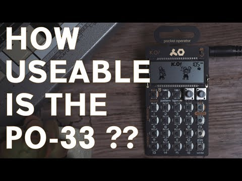 PO-33 K.O! House Music + How to Make A Song