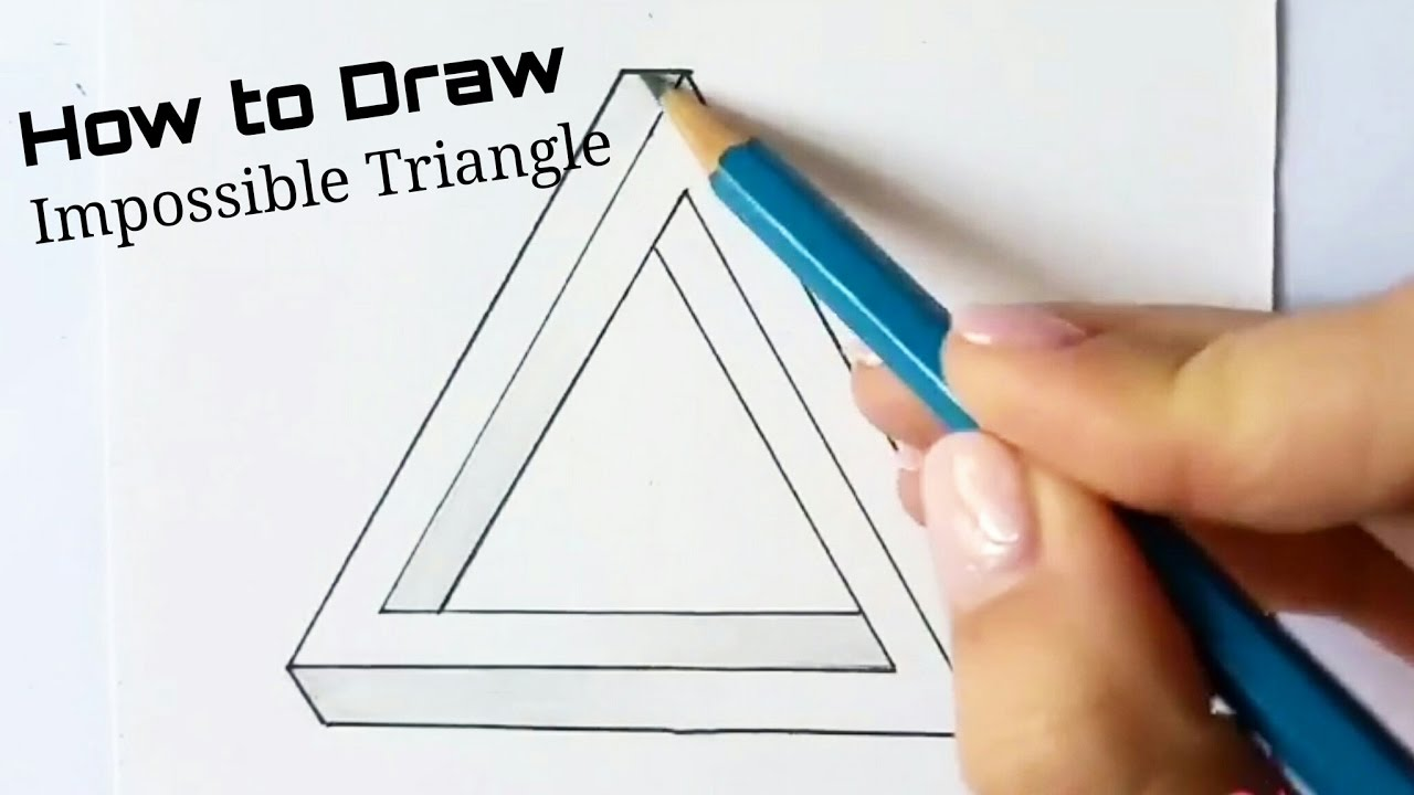 How To Draw: Impossible Triangle
