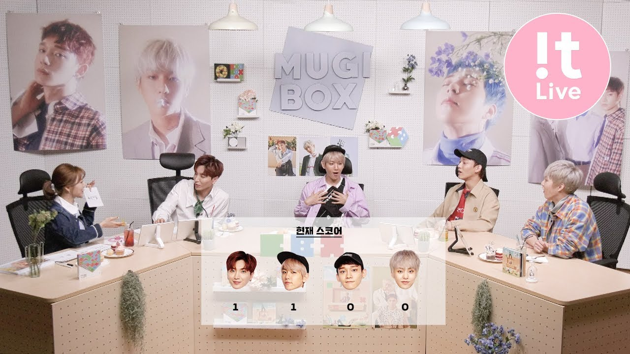 ENG SUB) 180508 !t Live Special: The 1st MUGI-BOX… – Exo