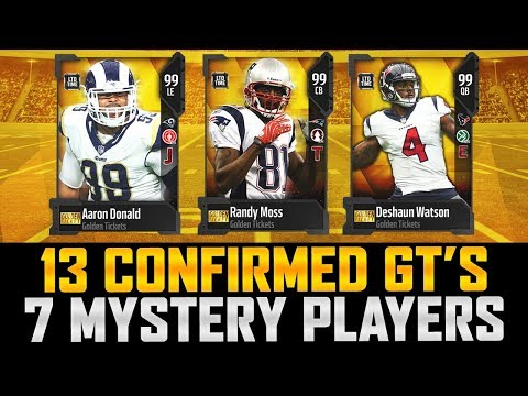 13 of 20 Confirmed Golden Tickets Coming To MUT 18!