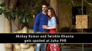 Akshay kumar & Twinkle Khanna Were Snapped | Bollywood Couple | TIMC