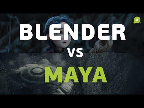 В чем разница? BLENDER VS MAYA