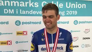 Kasper Asgreen vinder sølv ved DM i Esbjerg 2019