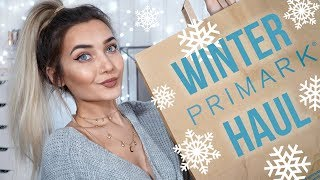 WINTER PRIMARK TRY ON CLOTHING HAUL! DECEMBER 2017