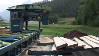 Resch & 3 - Bandsaw Mechanization - Plank Outfeed - En
