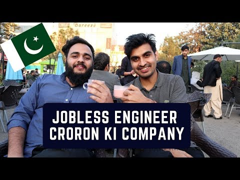 Jobless Engineer in Pakistan with a Multi Million Dollars Startup/Business