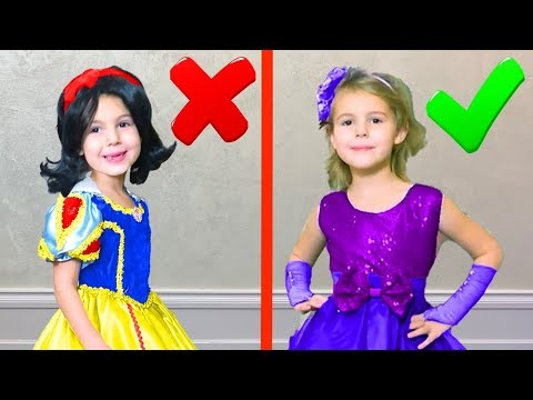 Mania dress up for a Birthday Party - Youtube