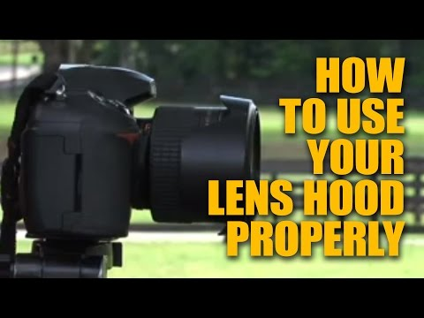 Photography Tip ~ Camera Lens Hood Thingy What Is It? How to use Lens Hood Properly