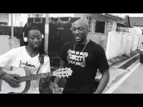 Freestyle on the street  of Freetown,      Emmerson Bockarie