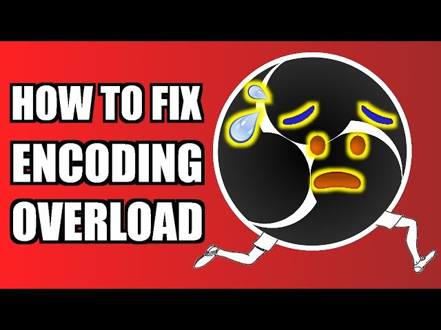 how to fix obs high encoding cpu usage
