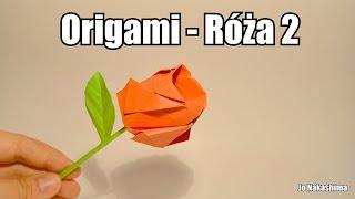 Origami - Róża