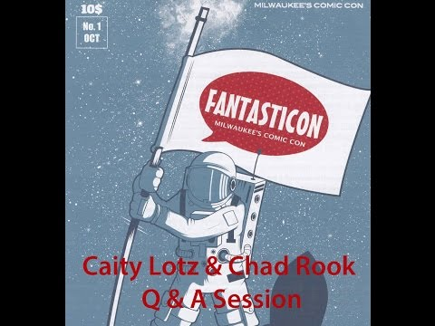 Caity Lotz and Chad Rook Q&A TASTICON MILWAUKEE 2014