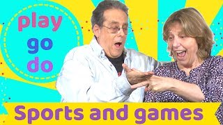 Sports and the verbs 'play' 'go' and 'do': Learn English with Simple English Videos