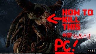 Ryse - Glott Boss fight on PC !