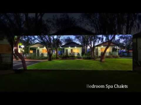Mandalay Holiday Resort and Tourist Park - Superior 2 Bedroom Spa Chalet