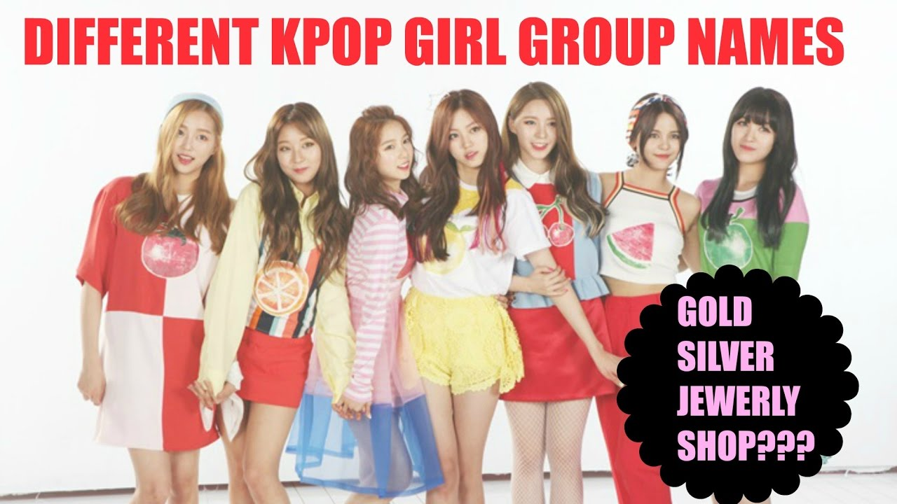 Groups names for girls