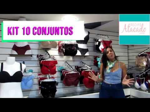lingerie de luxo 10 conjuntos KIT PARA REVENDA direto da Fábrica. Recife  Atacado 89ade3bf2c7