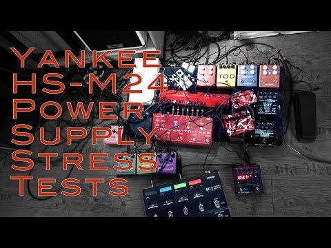 Yankee HS-M24 - Stress Tests - Putting the most powerful Power Supply through Hell