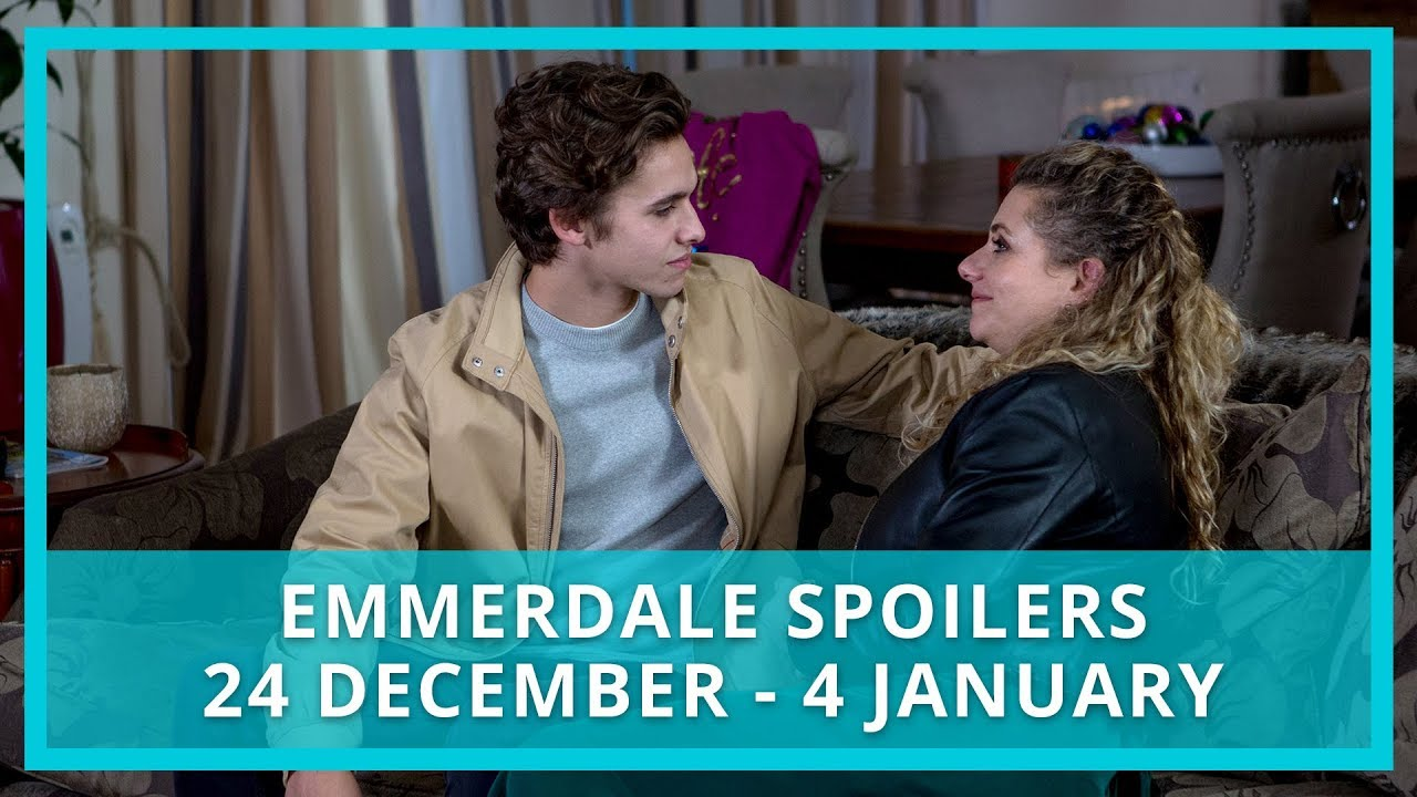 Emmerdale spoilers: 24 December 2018 - 4 January 2019