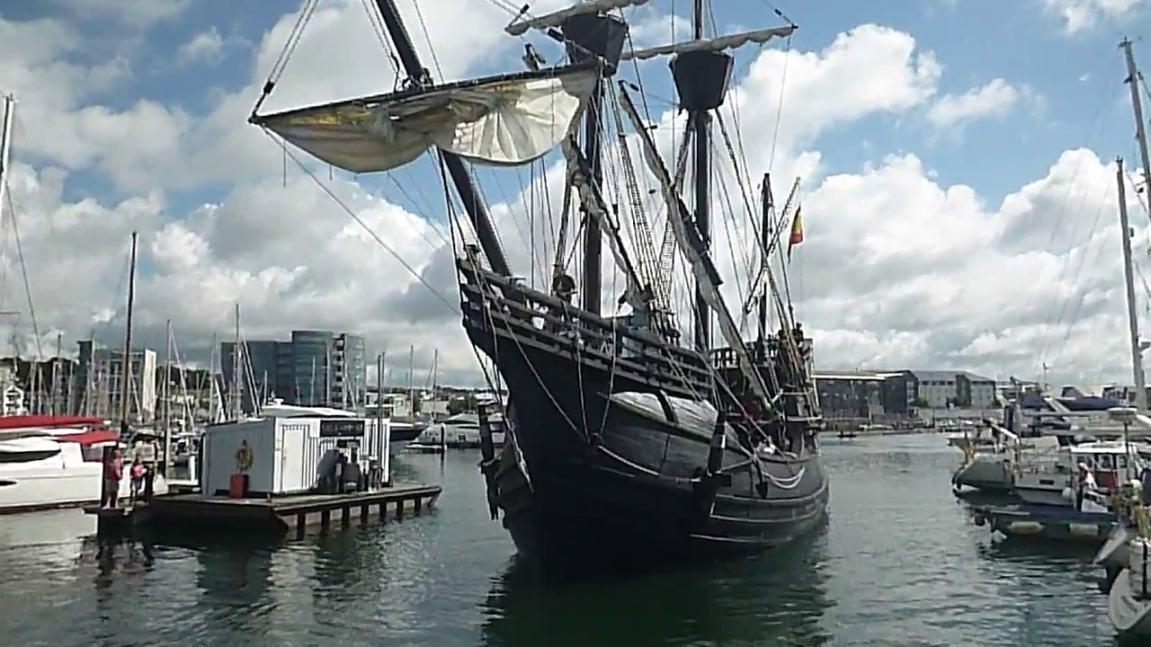 15th century spanish ship in plymouth youtube