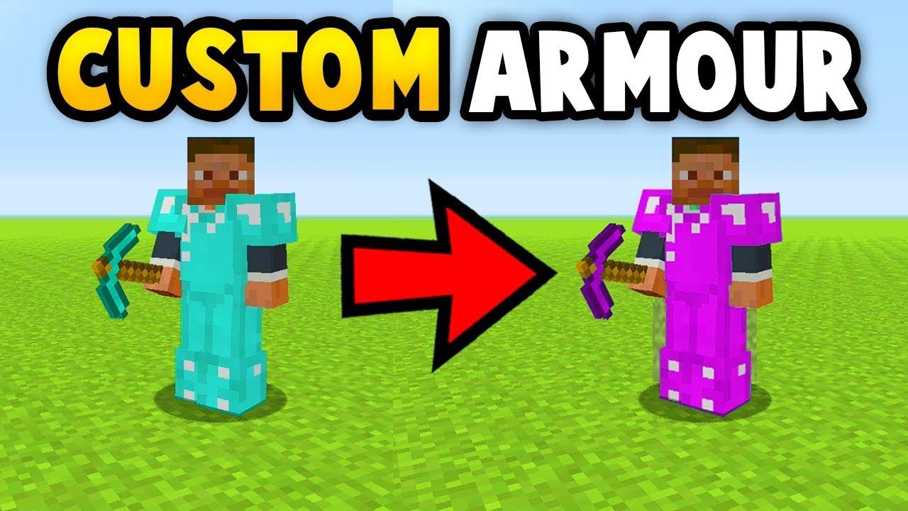 MINECRAFT HOW TO GET CUSTOM TOOLS/ARMOUR (Ps3/Xbox360/PS4/XboxOne/WiiU)