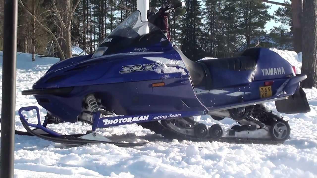 Yamaha Srx Snowmobile