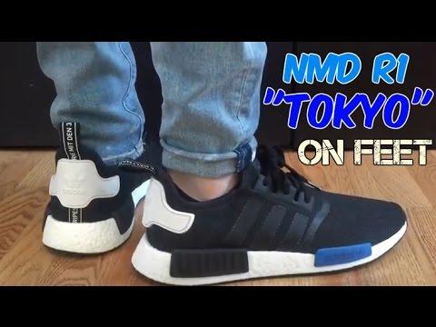 Adidas Nmd R1 Tokyo On Feet Youtube