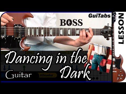 How to Play Dancing in the Dark - Bruce Springsteen / Guitar Tutorial