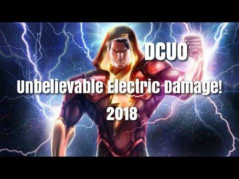 DC Universe Online | UNBELIEVABLY FAST Electric DPS Loadout (2018)