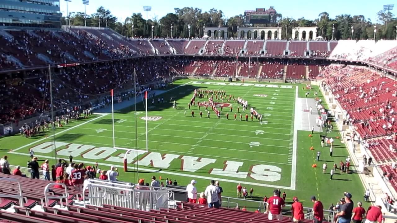 Stanford Band National Anthem vs. Washington State ...