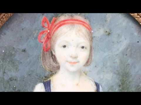 Portrait miniature ( portrait miniature 77 )