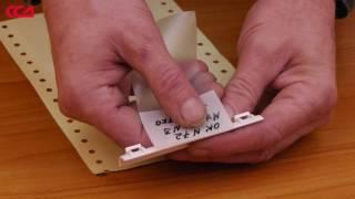 видео Применение маркировочных бирок