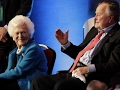Former President George H W Bush leaving ICU soon