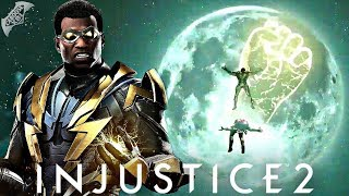 Injustice 2 - Black Lightning Super Move Revealed!