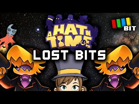 A Hat in Time LOST BITS   Unused Content & Unseen Secrets [TetraBitGaming]