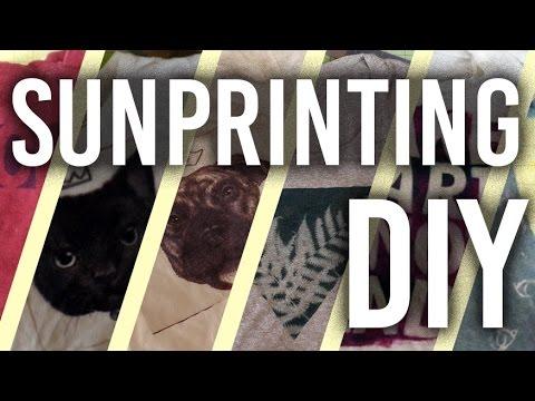 How to Sun Print : DIY