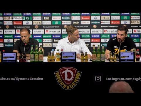 5. Spieltag   SGD - FCSP   Pressekonferenz nach dem Spiel