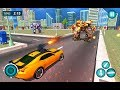 Flying Superhero Car Robot Transform Wars Games | Android Gameplay (Cartoon Games Network)