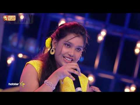 Super Singer Junior - Oru Kili Uruguthu by Sivaranjini and Shruthika