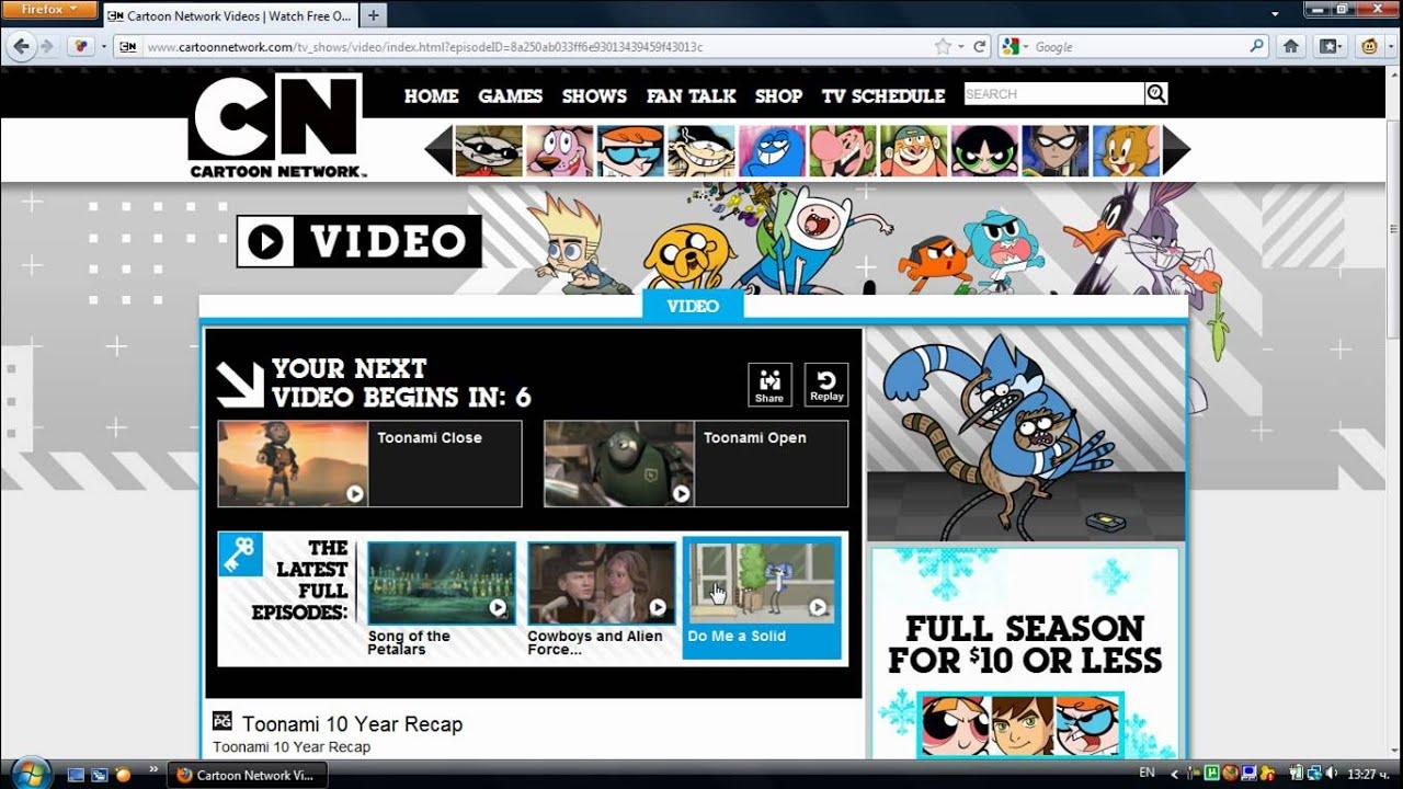 Cn Added Toonami Videos At Cartoonnetwork Com December 2011 Youtube