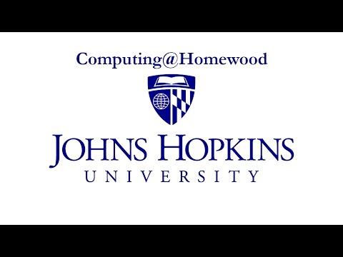Computing At Homewood: Library