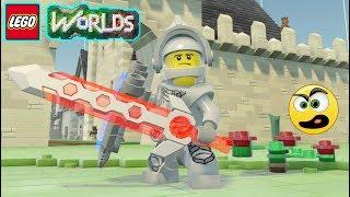 LEGO Worlds - Episódio #43 - Entrei no Castelo (Construções) [ PS4 ] Caraca Games