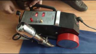 3000A Banner Welder Demo Welding machine