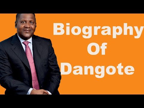 Biography of Aliko Dangote, Richest Black man in the World