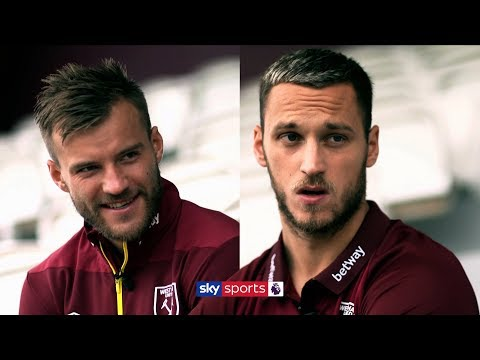 Mark Noble 'looks like old man' 😂| Yarmolenko and Arnautovic on life at West Ham