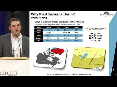 Uranium Exploration In The Athabasca Basin - Skyharbour Resources